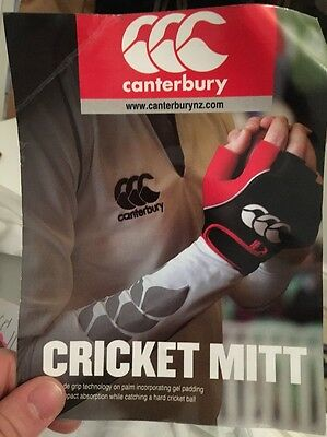 Canterbury Cricket Catching Gloves