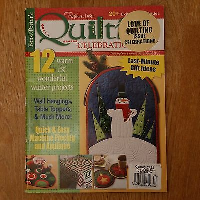 Patchwork & Quilting : Fons & Porter's Quilting Celebrations mag, Winter 2012