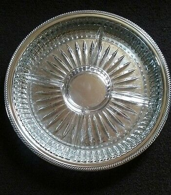 F.B. Rogers silver co silverplate serving dish platter