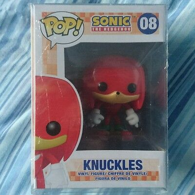 Sonic The Hedgehog Funko Pop - Knuckles Very Rare Mint