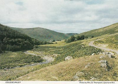Postcard - College Valley - View