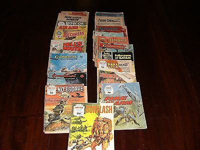 17 Battle/Commando/War Picture library comics