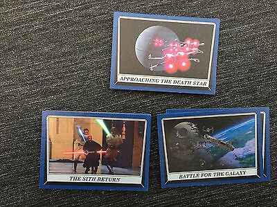 Star Wars Rogue One Mission Briefing Mint Lot Of 34 Blue Parallels