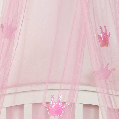 Girl Princess Pink Bed Canopy Kids Children Insect Mosquito Net Bedroom