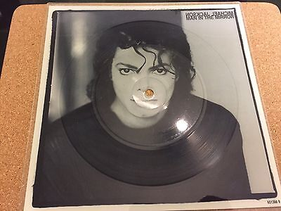 Michael Jackson Rare Man In The Mirror Picture Disc