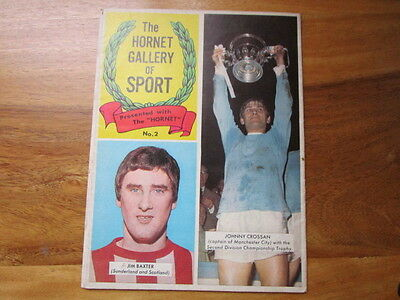 1967 Hornet magazine free gift Gallery of Sport wall chart No2