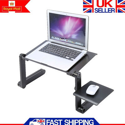 Portable Laptop Table Adjustable Folding Computer Table Stand Lazy Bed/Sofa Tray