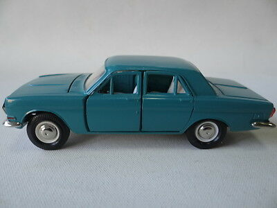 Volga Gaz-24, Scale 1:43, Blue, Unique model, New-Old stock, Made in USSR
