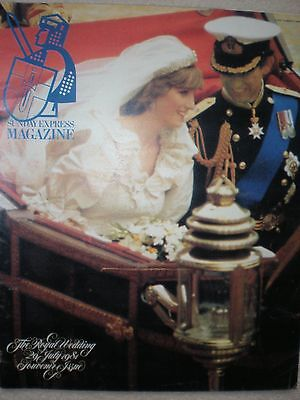 The Royal Wedding Souvenir Issue 29 July 1981 Charles and Diana