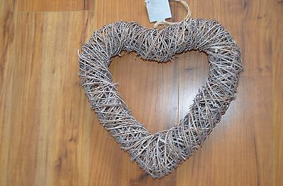 Lovely Natural Wicker Wreath