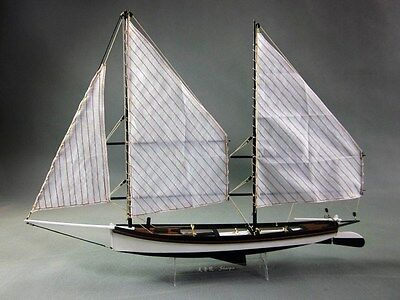 Hobby ship model kits scale 1/24 SHARPIE 1870 ship boat wooden model