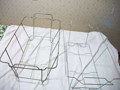 Chafing Pan Holder Racks Only Box Lot of 10