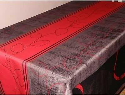 nappe anti taches oval moderne 240/150