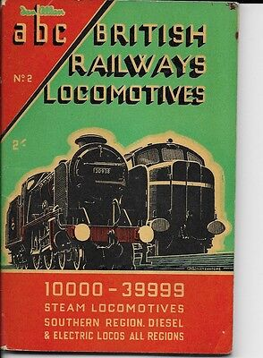 Ian Allan abc = British Railways Locomotives. Steam Loco Southern Region 1949
