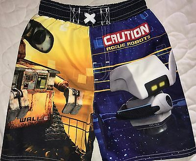 Boys Size 18 Months Disney Wall-E Water Swim Shorts Trunks Suit Spring Summer