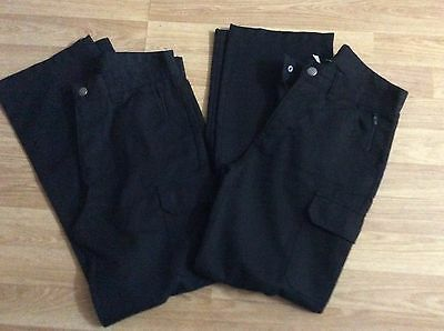 Next Boys Black School Trousers Age 13 Years Slim