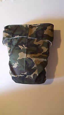 Adult Diaper,Extra Padding, Fully Functional All in One, camouflage. ABDL