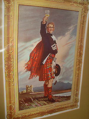 "Dewar's Advertising Poster - ""The Chieftain""  - 1928"
