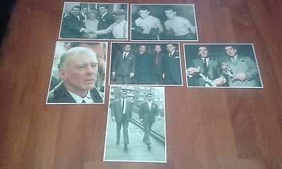 The Krays Signed Pictures. East End Gangsters. Ronnie & Reggie Kray. Legends