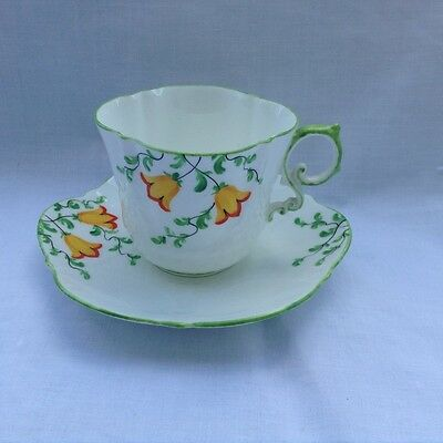 Aynsley china Tea for Two Duo Hand Painted