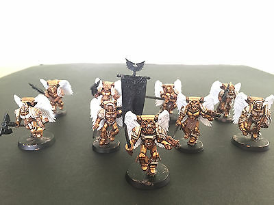 Warhammer 40k Space Marines Blood Angels Sanguinary Guard Squad