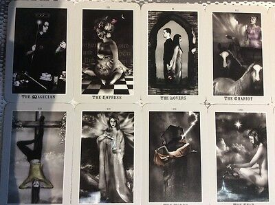 Silver Era Tarot deck, with book, used cards, Schiffer, 2010