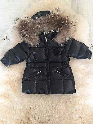 Gianfranco Ferre Unisex Real Fur Winter Down Jacket 6m Moncler Style
