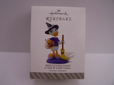 Bewitching Daisy  Year Of Disney Magic Hallmark  2014 Ornament  #3 In Series