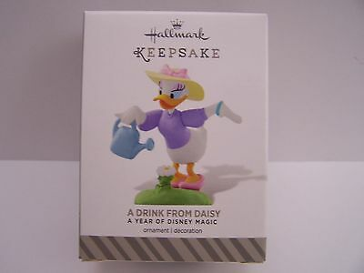 A Drink From Daisy  Year Of Disney Magic Hallmark  2015 Ornament  #10 In Series