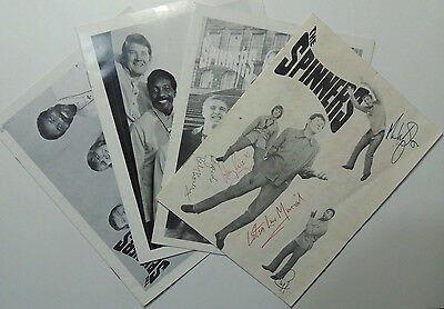 THE SPINNERS 4x 1970s Folk Music Concert Programmes one signed by all members
