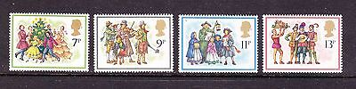 Gb Stamps 1978 Unmounted Mint - Christmas Carol Singers