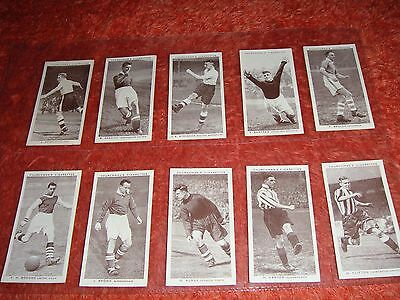 Churchman Cigarette Cards- Full Set Of 50 Association Footballers - 1939.