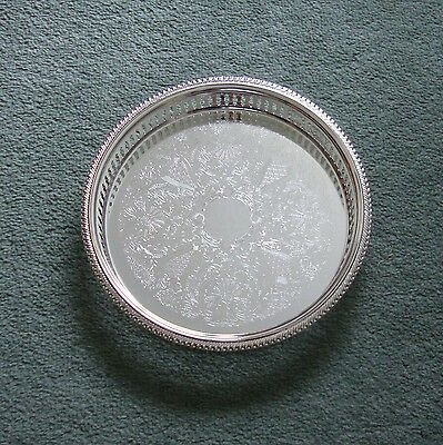 NEW Readers Digest Silver Plated Gallery Tray