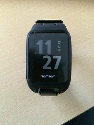 TOMTOM SPARK CARDIO +MUSIC WATCH GPS RUNNING BLACK LARGE with Heart rate Monitor