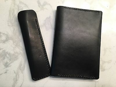 One Star Leather - Hobonichi Techo Planner Cover + Horween Pen Sleeve
