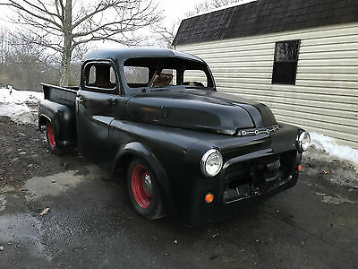 1953 Dodge Other Pickups CHOPPED RAT HOT ROD CUSTOM SHOP TRUCK 1953 Dodge Truck C1-B-6 CHOPPED RAT HOT ROD CUSTOM LOWERED SOLID PICKUP CLASSIC