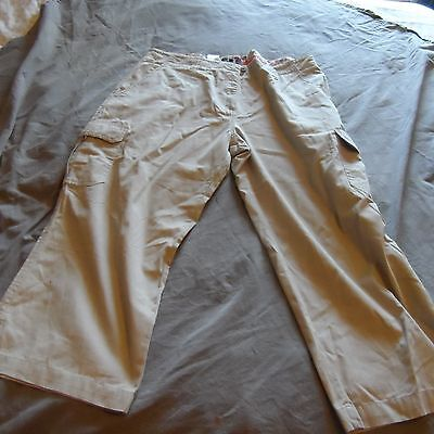 Ladies trousers taupe colour size 16 Peter Storm