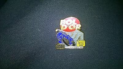 Pin's Bol D'or 2001 Septembre 15-16 Magny Cours Nevers Moto Revue