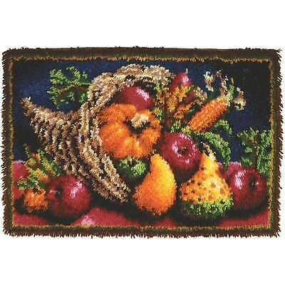 Classics Latch Hook Kit 20 Inch X 30 Inch-Country Harvest 057355369306