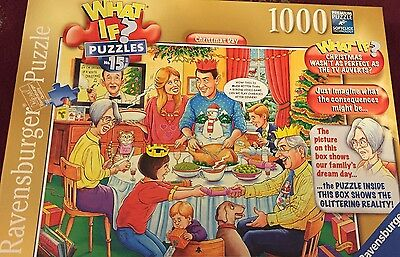 Ravensburger 1000 Piece Jigsaw Puzzle What If No 15 Christmas Day