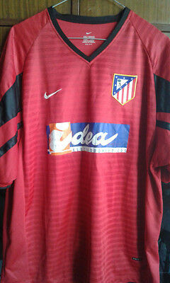 Atletico Madrid camiseta futbol football shirt L