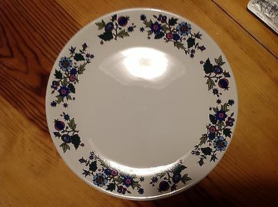 Midwinter Alpine Blue By Jessie Tait Dinner Plate 10""