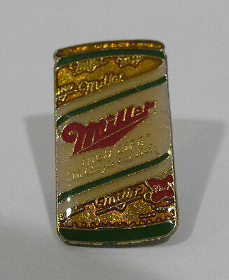 Enamel MILLER HIGH LIFE Beer Can pin, early 80's vintage