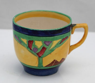 Arabesque John Guildford Barker Brothers Art Deco Clarice Cliff Interest Cup