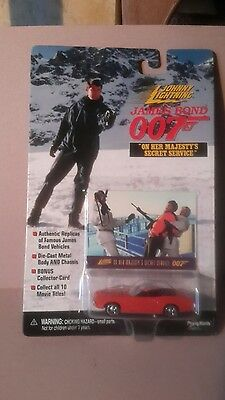 James Bond 007 On Her Majesty's Secret Service Boxed car and Collectors card (Jo