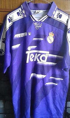 Real Madrid M Match Worn   camiseta futbol football shirt