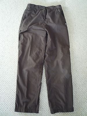Womens Craghoppers Warm Lined Solar Dry Walking Trousers Size 10 S