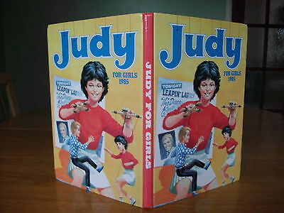 JUDY for girls annual 1985 in excellent / near mint condition
