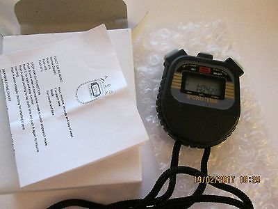 UK STOCK track and field training neck stopwatch