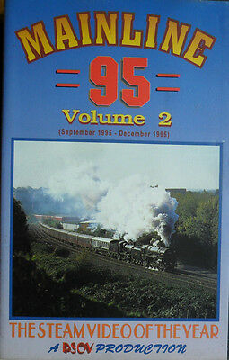 Mainline 95 Volume 2 (Sept to Dec 95) - 2 hour VHS Railway Video